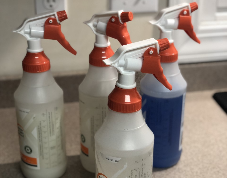 "Biohazard Cleaning - ""Can I Use Bleach?"""